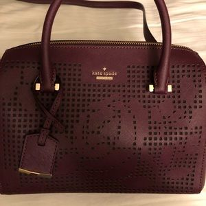 Kate Spade Cameron Street Perforated Satchel Bag